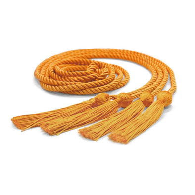 Double Graduation Honor Cord Apricot - Endea Graduation