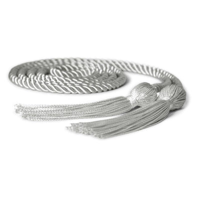 Elementary School Single Graduation Honor Cord Silver - Endea Graduation