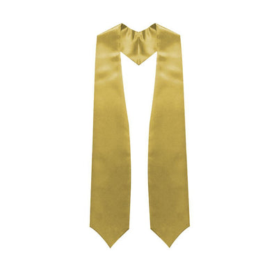 High School Antique Gold Graduation Stole - Endea Graduation