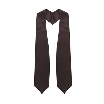 High School Brown Graduation Stole - Endea Graduation