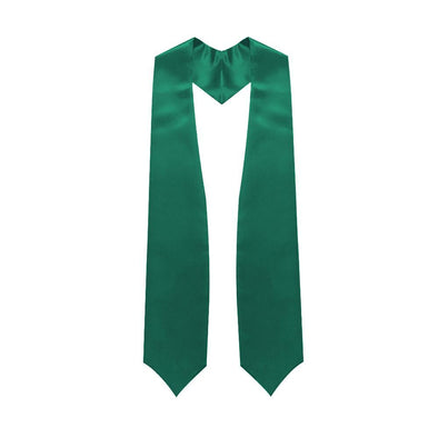 High School Emerald Green Graduation Stole - Endea Graduation