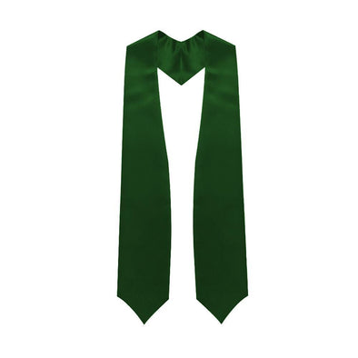 High School Hunter Green Graduation Stole - Endea Graduation