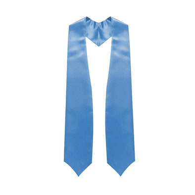 High School Light Blue Graduation Stole - Endea Graduation