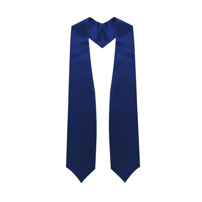 High School Navy Blue Graduation Stole - Endea Graduation