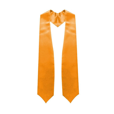 High School Orange Graduation Stole - Endea Graduation