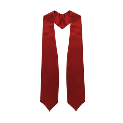 High School Red Graduation Stole - Endea Graduation