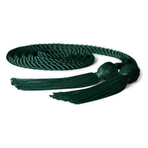 High School Single Graduation Honor Cord Hunter Green - Endea Graduation