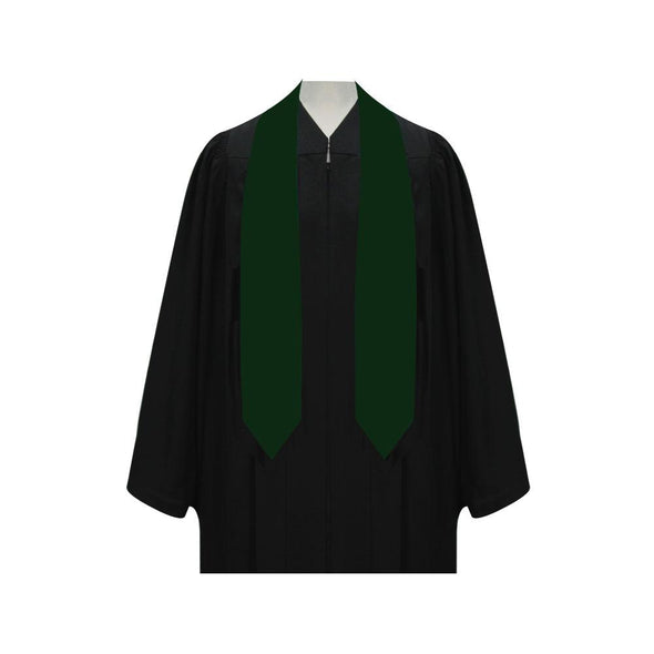 Hunter Green Graduation Stole - Endea Graduation