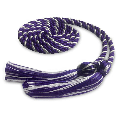 Kindergarten & Pre-School Single Graduation Honor Cord Purple/White - Endea Graduation