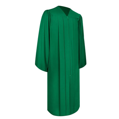 Matte Green Elementary School Graduation Gown - Endea Graduation