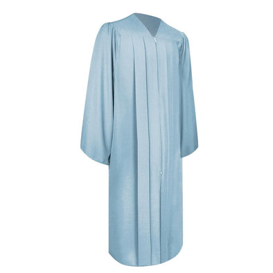 Matte Light Blue Bachelor Graduation Gown - Endea Graduation