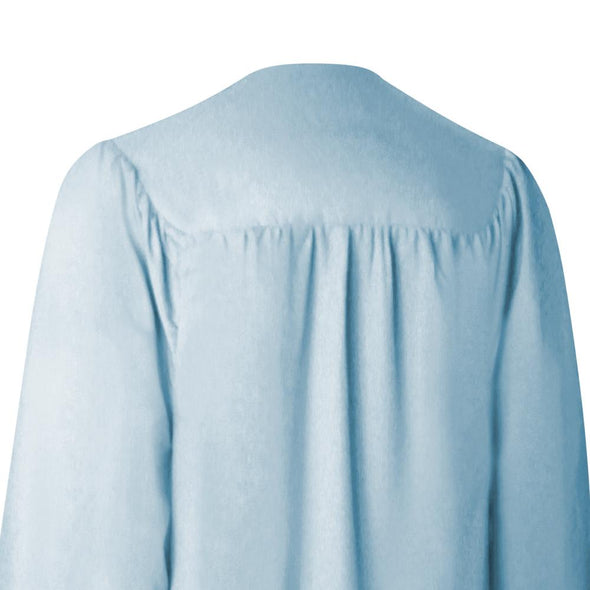 Matte Light Blue High School Graduation Gown - Endea Graduation