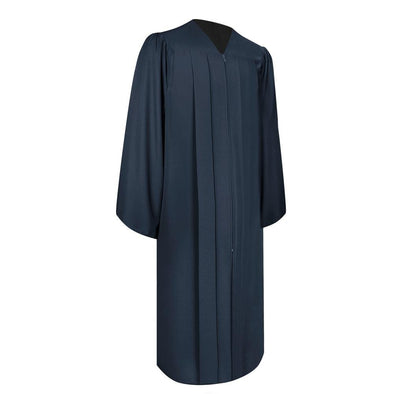 Matte Navy Blue Elementary School Graduation Gown - Endea Graduation