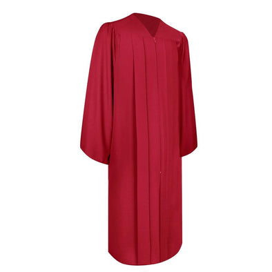 Matte Red Elementary School Graduation Gown - Endea Graduation