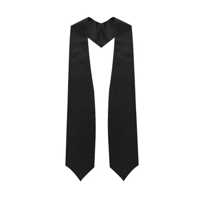 Middle School & Junior High Black Graduation Stole - Endea Graduation