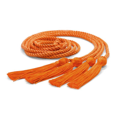 Middle School & Junior High Double Graduation Honor Cord Orange - Endea Graduation