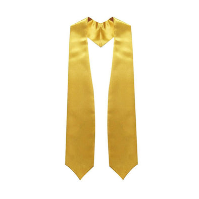 Middle School & Junior High Gold Graduation Stole - Endea Graduation