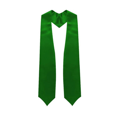 Middle School & Junior High Green Graduation Stole - Endea Graduation