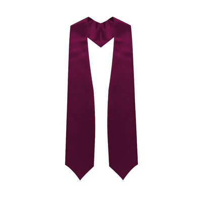 Middle School & Junior High Maroon Graduation Stole - Endea Graduation
