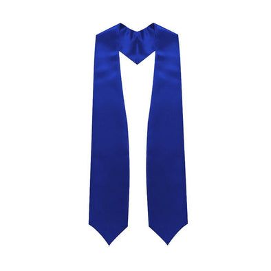 Middle School & Junior High Royal Blue Graduation Stole - Endea Graduation