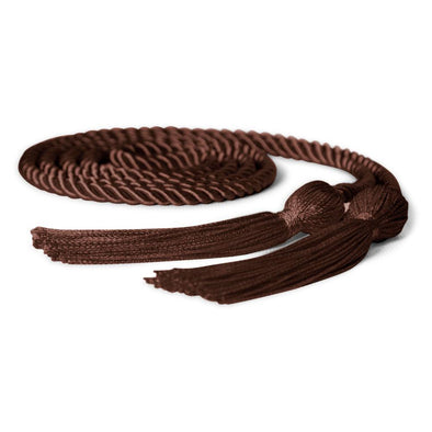 Middle School & Junior High Single Graduation Honor Cord Brown - Endea Graduation