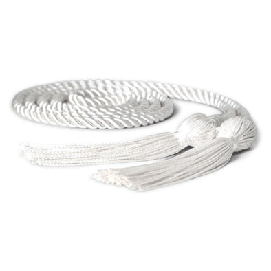 Middle School & Junior High Single Graduation Honor Cord White - Endea Graduation
