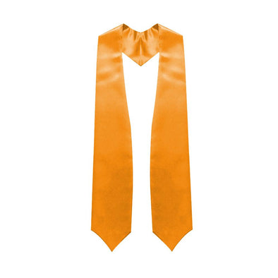 Orange Graduation Stole - Endea Graduation