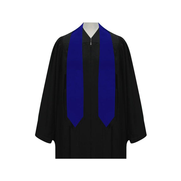 Royal Blue Graduation Stole - Endea Graduation