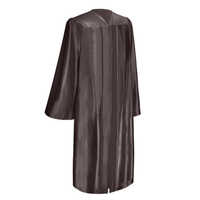 Shiny Brown Elementary School Graduation Gown - Endea Graduation
