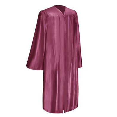 Shiny Garnet Elementary School Graduation Gown - Endea Graduation