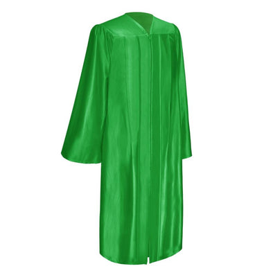 Shiny Green Elementary School Graduation Gown - Endea Graduation