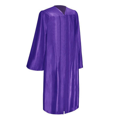 Shiny Purple Elementary School Graduation Gown - Endea Graduation