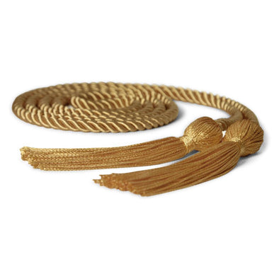Single Graduation Honor Cord Antique Gold - Endea Graduation