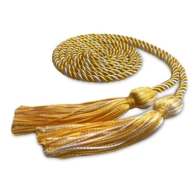 Single Graduation Honor Cord Gold/White - Endea Graduation