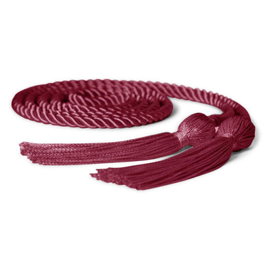 Single Graduation Honor Cord Maroon - Endea Graduation