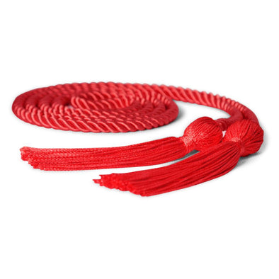 Single Graduation Honor Cord Red - Endea Graduation