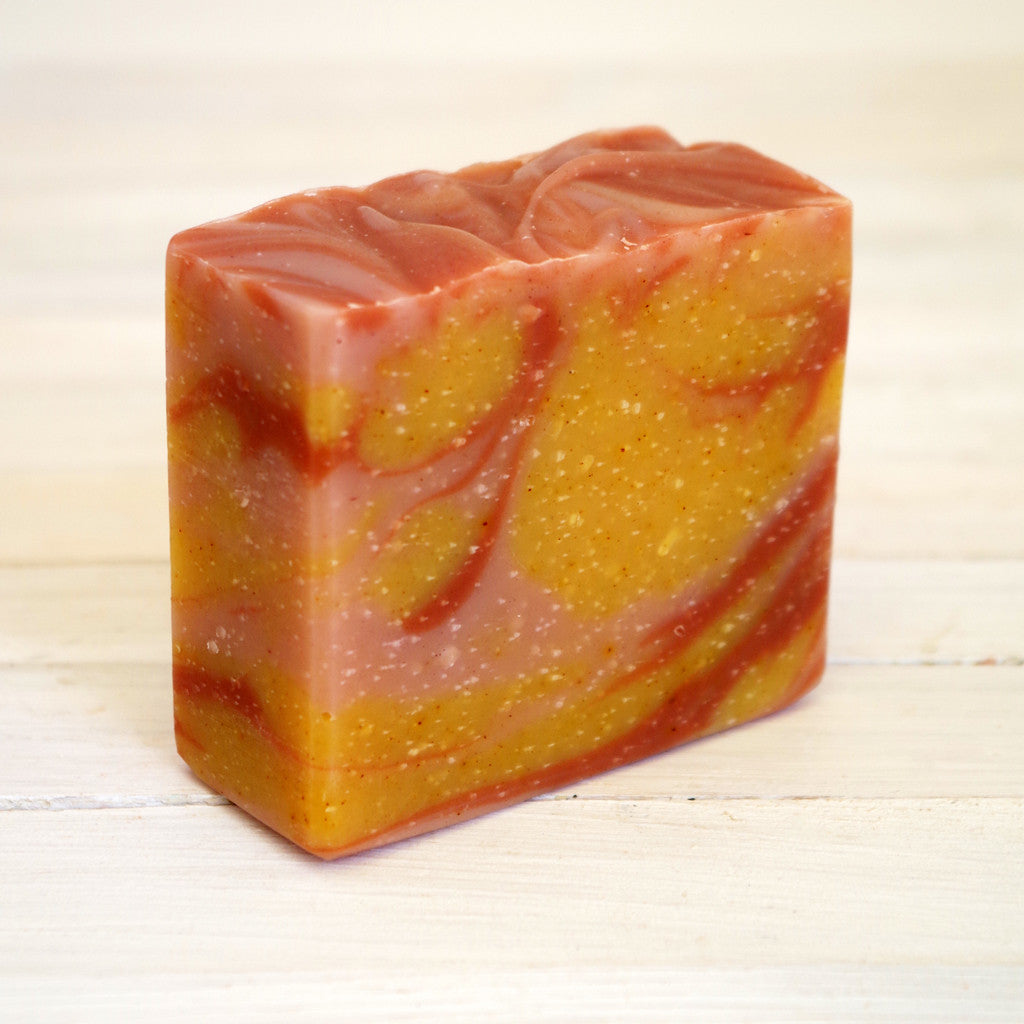 Citrus and Ginger Soap with Mango Seed Butter