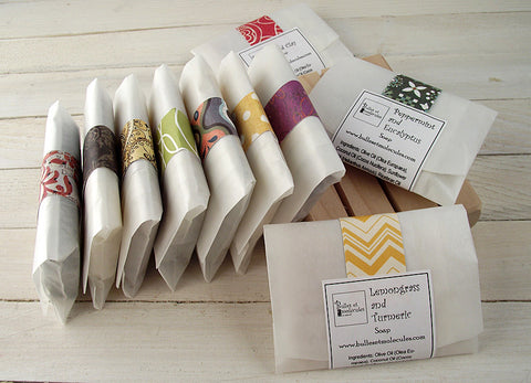 Soap Samples - Choose 8 Handmade All Natural Soap Samples