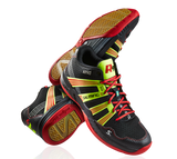 SALMING RACE R9 MID 2.0 (MEN'S) - BLACK/RED ( Limited Stock)