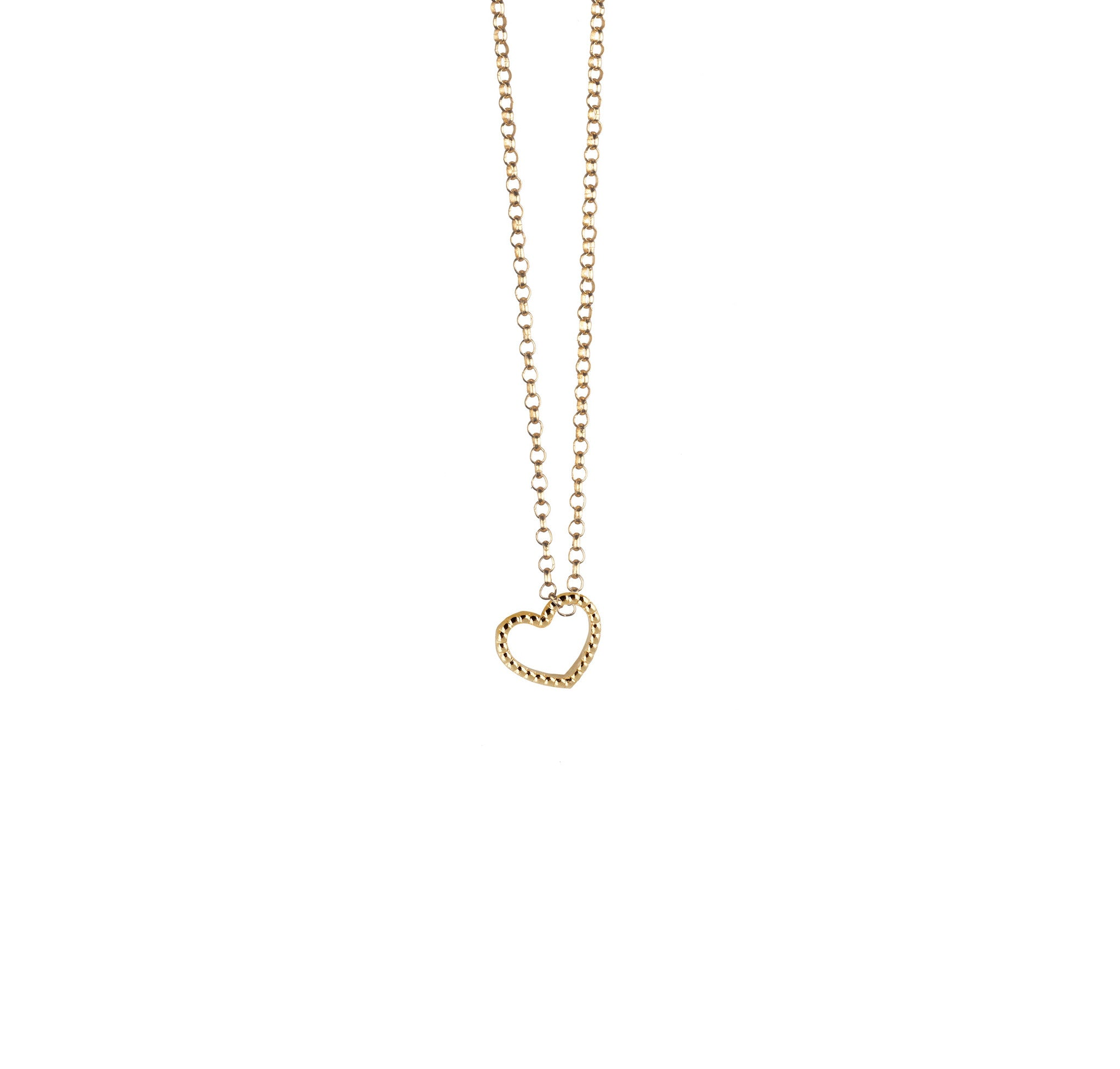 loading mini alef gold zoom bet heart necklace jewelry in diamond pave by rosegold paula