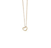 18k Mini Heart Dotted Pendant