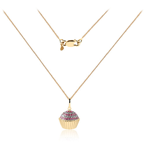The Candy Store Cupcake Pendant