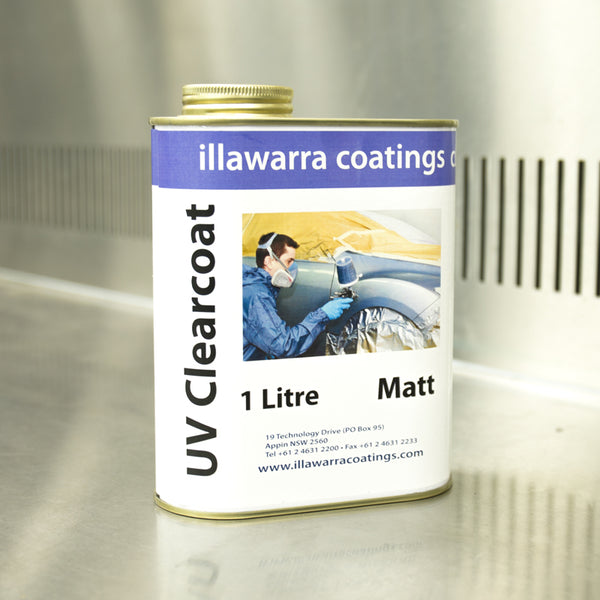 UV Activated Clearcoat 1L - Matt