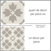 Sticker Sol Margot en Taupe