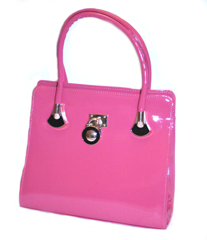 Back To The Fuschia Structured Tote Bag - Front