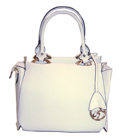 All Shook Up Tote White Bag - Front