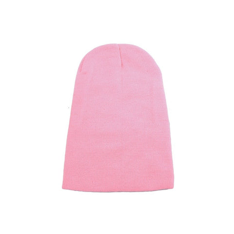 Beans And Bubblegum Beanie. Pink hat, knitwear, one size fits all