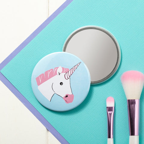 Miss Unicorn Pocket Mirror