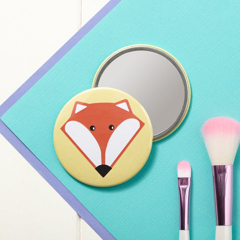 Mr Fox Pocket Mirror