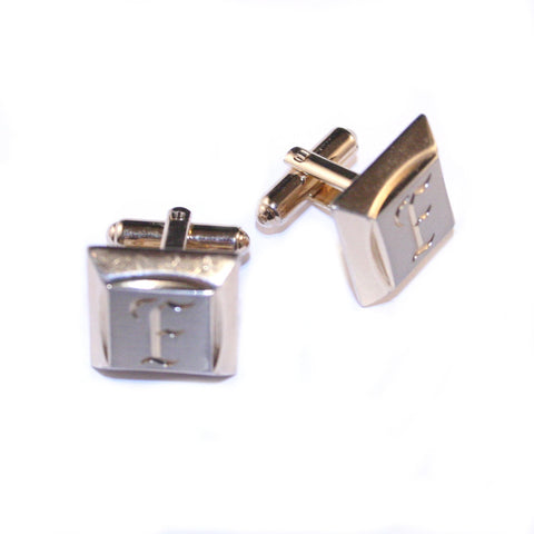 F is For... Vintage Cufflinks